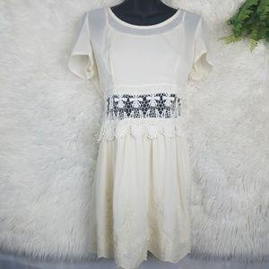 Lulumari Sheer Lined Dress